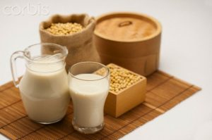 15 Mar 2013 --- Soybean, Soy Milk, --- Image by © IMAGEMORE1/Imagemore Co., Ltd./Corbis